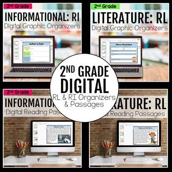 2nd Grade DIGITAL RL and RI Bundle