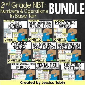 2nd Grade Math NBT Bundle