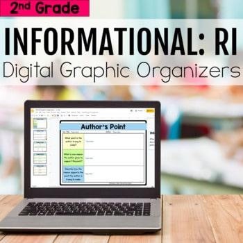 2nd Grade RI Informational Digital Graphic Organizers