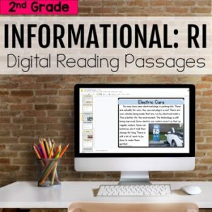 2nd Grade RI Informational Digital Passages