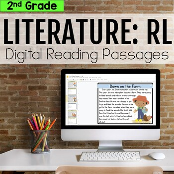 2nd Grade RL Literature Digital Passages