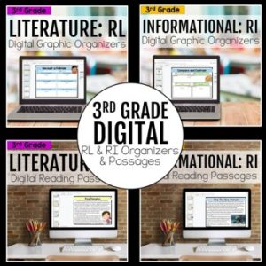 3rd Grade DIGITAL RL and RI Bundle
