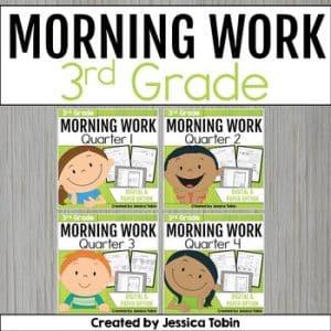 3rd Grade Morning Work Bundle