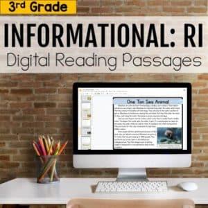3rd Grade RI Informational Digital Passages