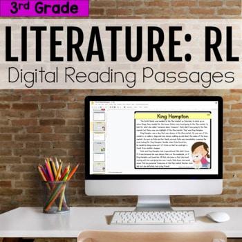 3rd Grade RL Literature Digital Passages