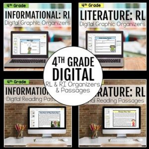 4th Grade DIGITAL RL and RI Bundle