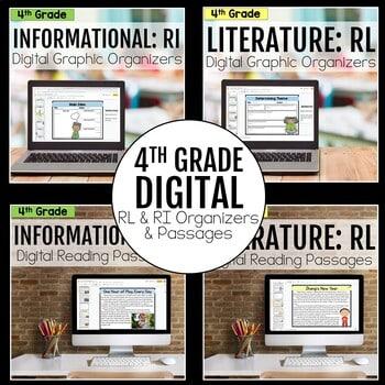 4th Grade DIGITAL RL and RI Bundle