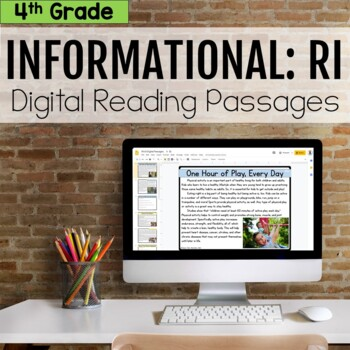 4th Grade RI Informational Digital Passages