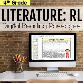 4th Grade RL Literature Digital Passages