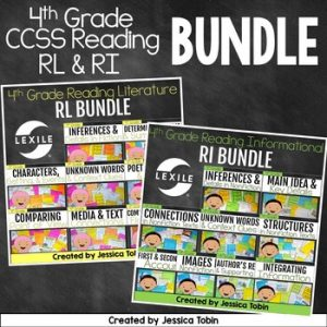 4th Grade Reading: Informational and Literature Bundle