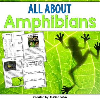 Amphibians Nonfiction Unit