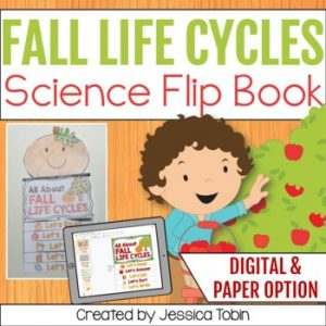 Apple and Pumpkin Life Cycle Flip Book