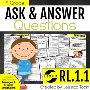 RL.1.1 Ask and Answer Questions