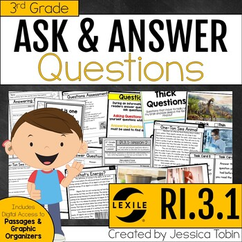RI.3.1 Ask and Answer Questions