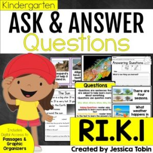 RI.K.1 Ask and Answer Questions