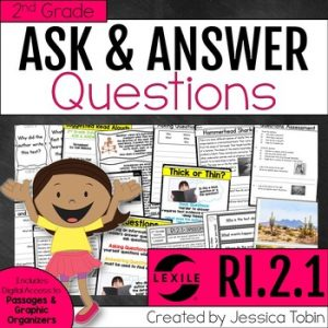 RI.2.1 Ask and Answer Questions