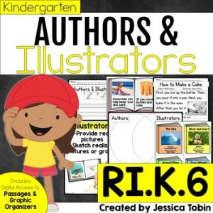 RI.K.6 Author and Illustrator