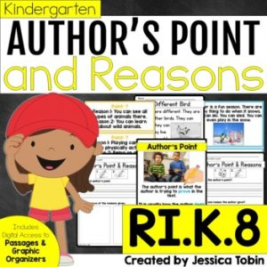 RI.K.8 Author's Point and Reasons