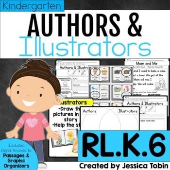RL.K.6 Authors and Illustrators Kindergarten
