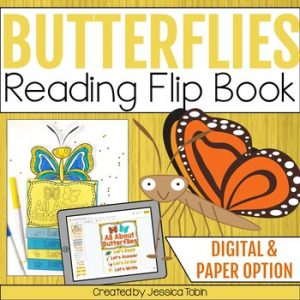 Butterfly Reading Flip Book
