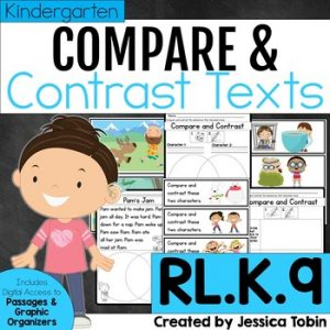 RL.K.9 Compare and Contrast Characters Experiences