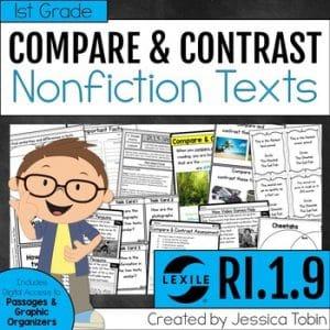 RI.1.9 Compare and Contrast Nonfiction Texts