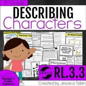 RL.3.3 Describing Characters