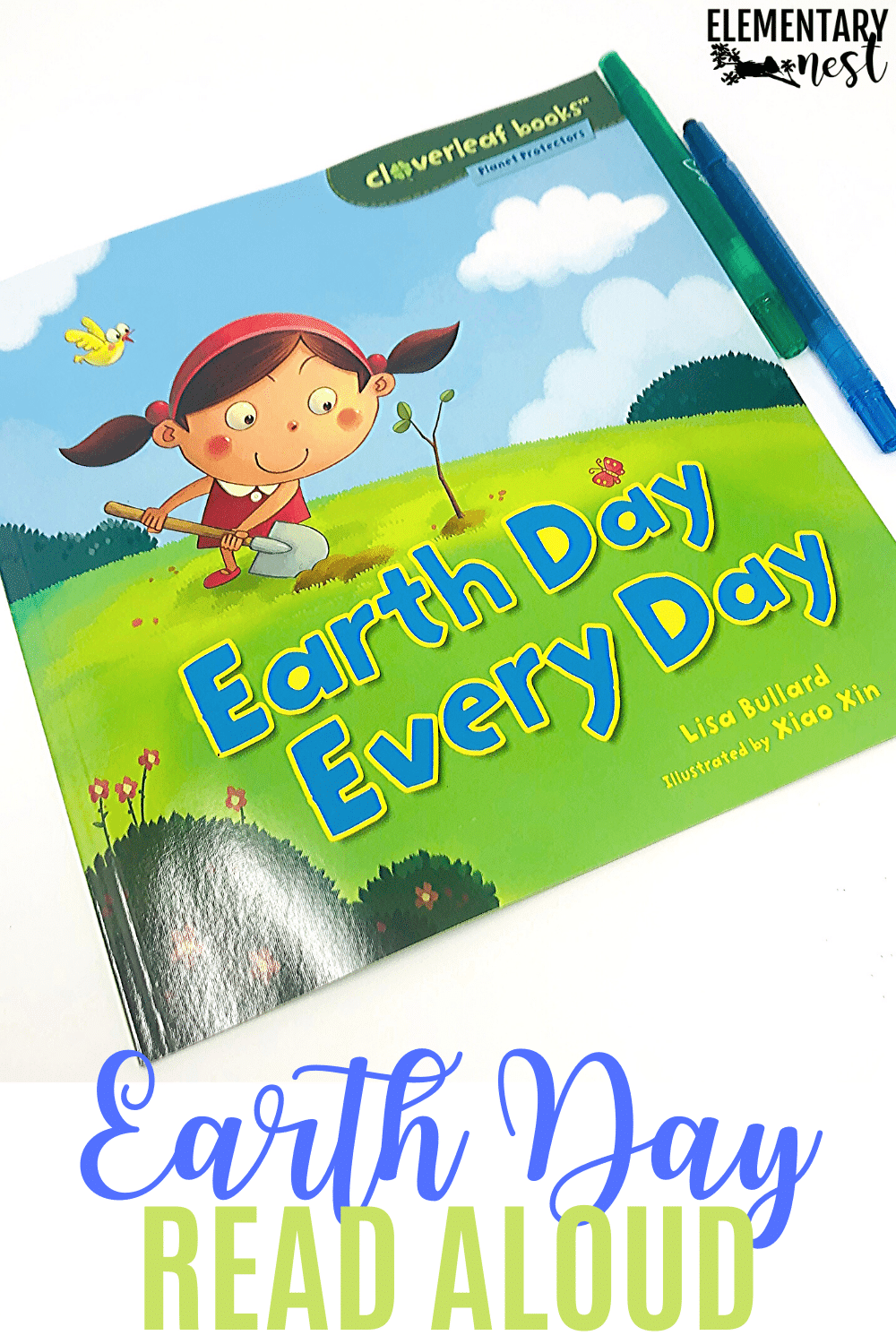 Earth Day Every Day book and reading activity