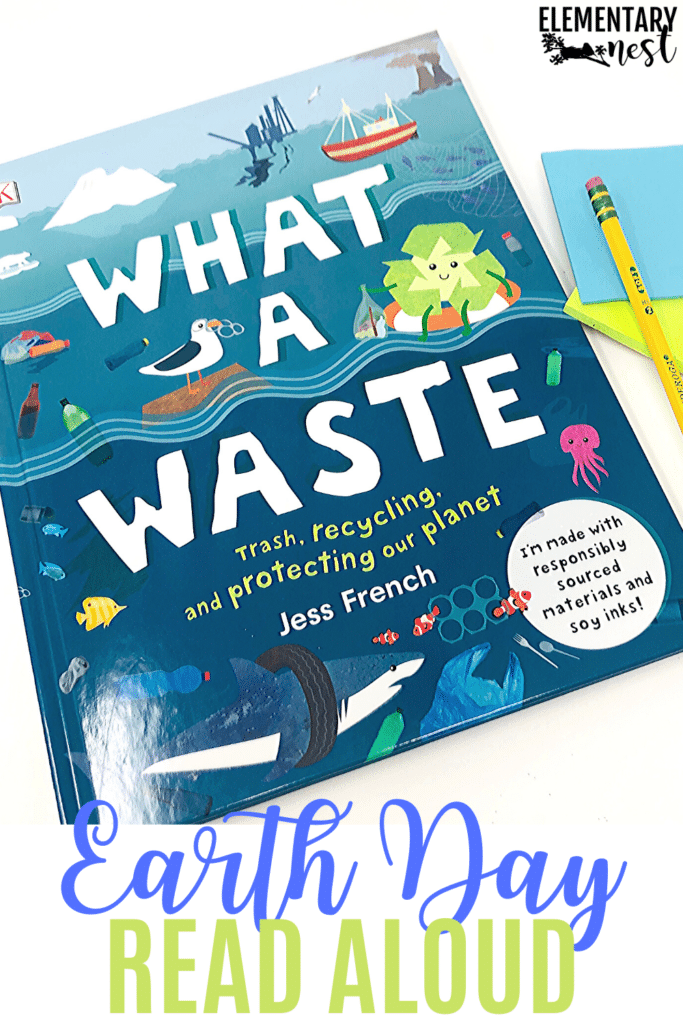 What a Waste- Earth Day book and reading activity