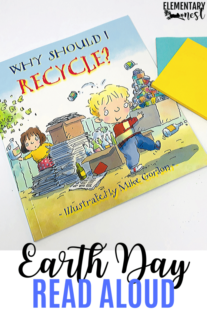 Why Should I Recycle? Earth Day book and reading activity
