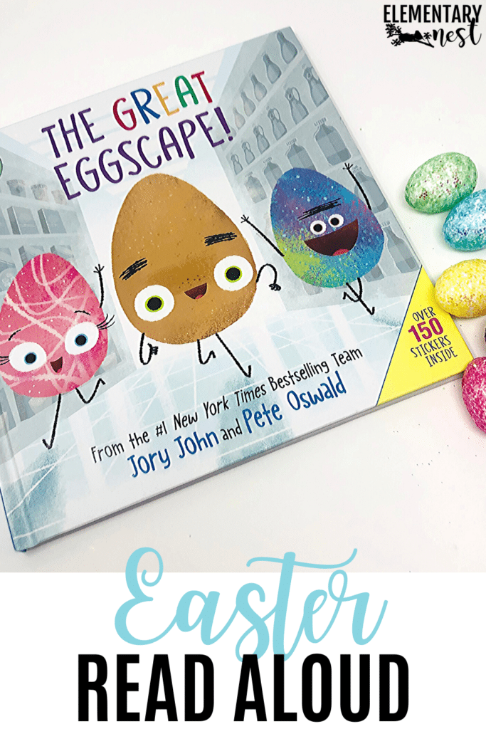 The Great Eggscape- Easter book and activities