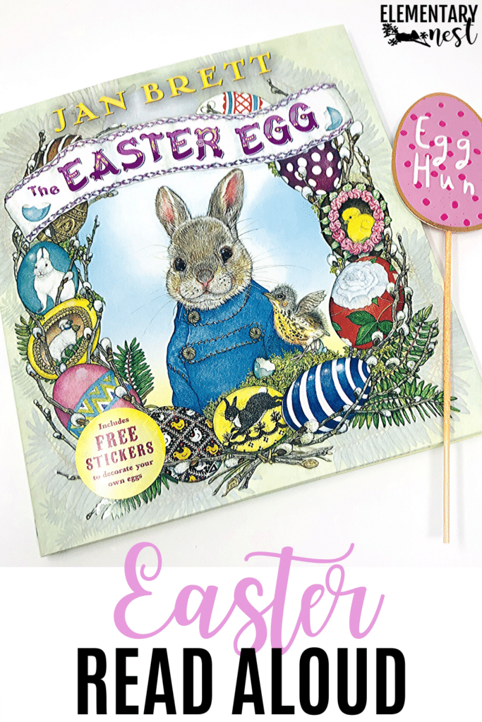 The Easter Egg- book and activities