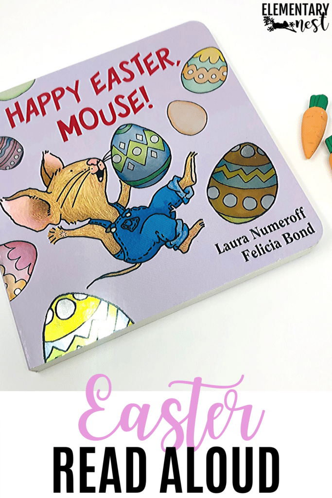 Happy Easter, Mouse! book and activities