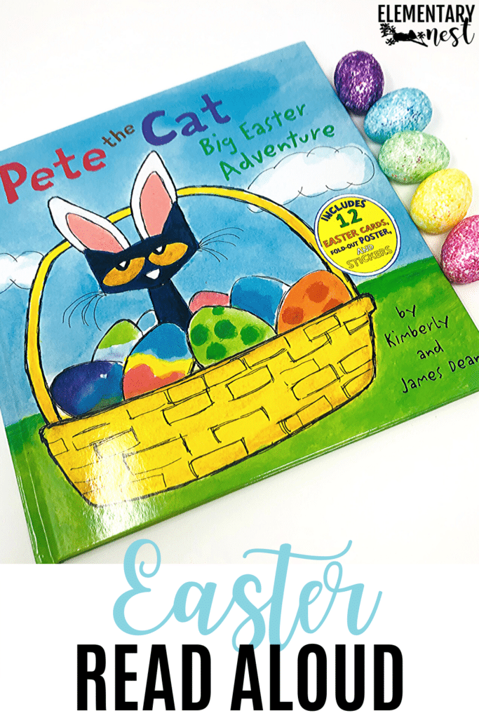 Pete the Cat Big Easter Adventure book and activities