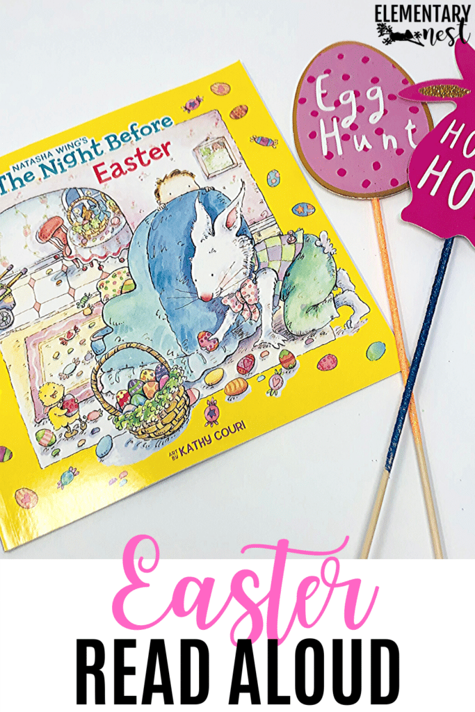 The Night Before Easter book and activities