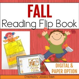 Fall Reading Flip Book