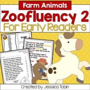 Farm Fluency for Early Readers- Zoofluency 2