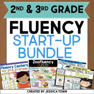 Fluency Bundle for 2nd and 3rd Grade