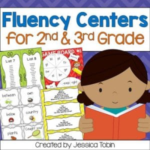 2nd and 3rd Grade Fluency Centers