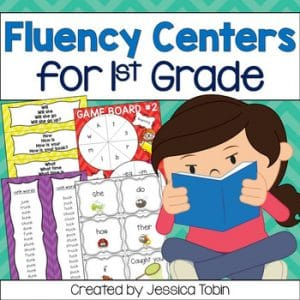 Fluency Centers for 1st Grade
