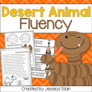 Desert Animals Fluency