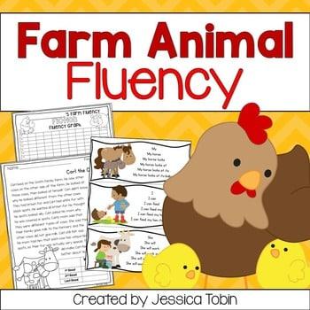 Farm Animals Fluency Unit