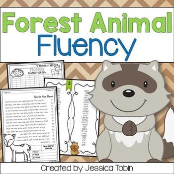 Fluency- Forest Animals