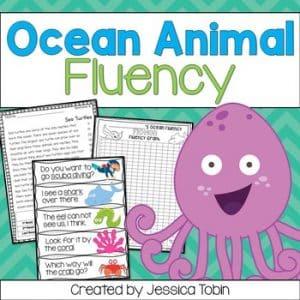 Fluency- Ocean Animals