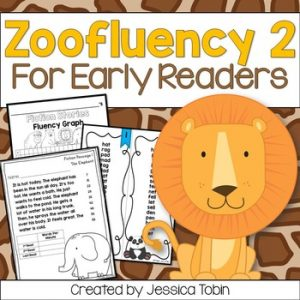 Fluency Passages for Early Readers- Zoofluency 2