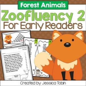 Forest Fluency for Early Readers- Zoofluency 2