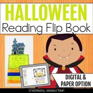 Halloween Reading Flip Book