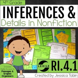 RI.4.1 Making Inferences in Informational Texts