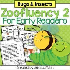Insect Fluency for Early Readers- Zoofluency 2
