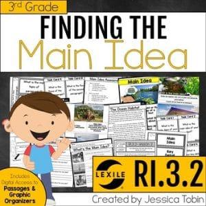 RI.3.2 Main Idea and Details